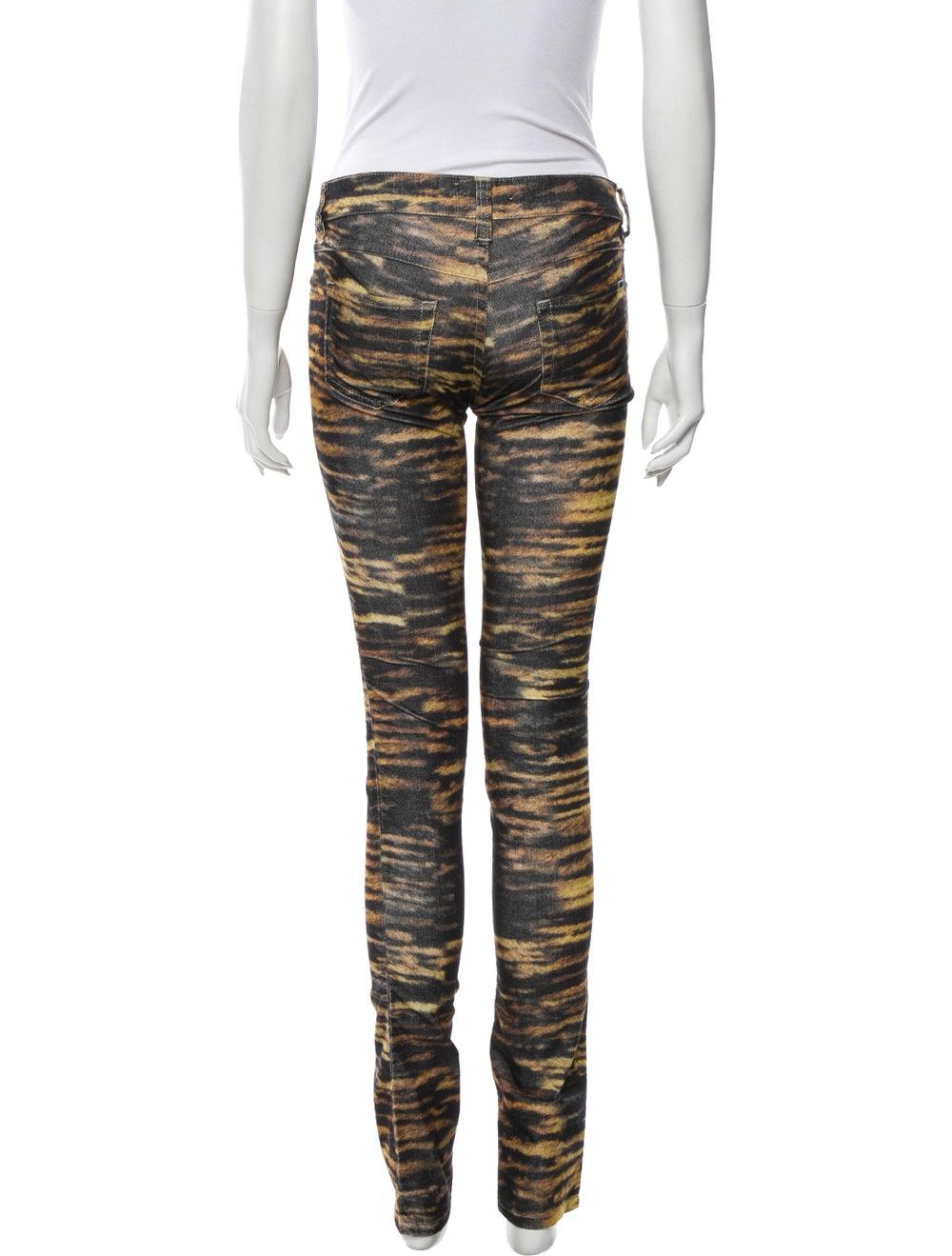 Étoile Isabel Marant Animal Print Skinny Leg Pant… - image 3
