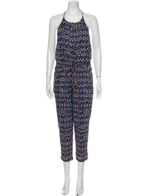 Étoile Isabel Marant Printed Sleeveless Jumpsuit B