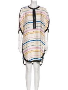 Étoile Isabel Marant Silk Knee-Length Dress