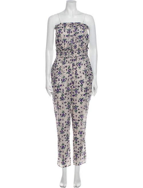 Étoile Isabel Marant Printed Strapless Jumpsuit Gr