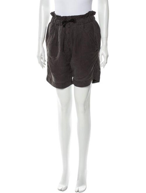 Étoile Isabel Marant Linen Knee-Length Shorts Brow