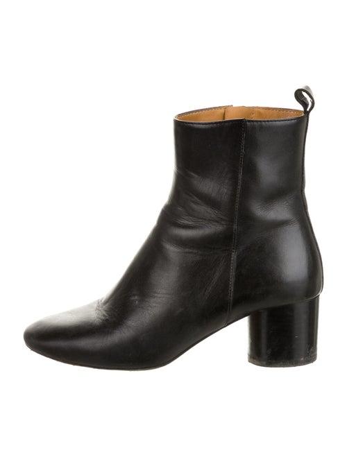 Étoile Isabel Marant Leather Boots Black