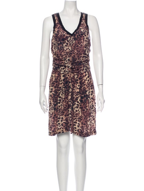 Étoile Isabel Marant Silk Knee-Length Dress