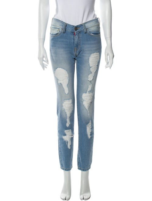 Etienne Marcel Low-Rise Straight Leg Jeans w/ Tags