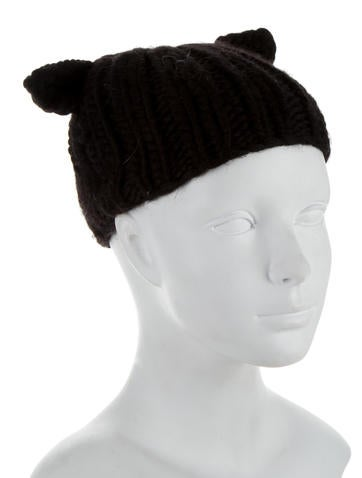 Wool Cat Ear Beanie w/ Tags
