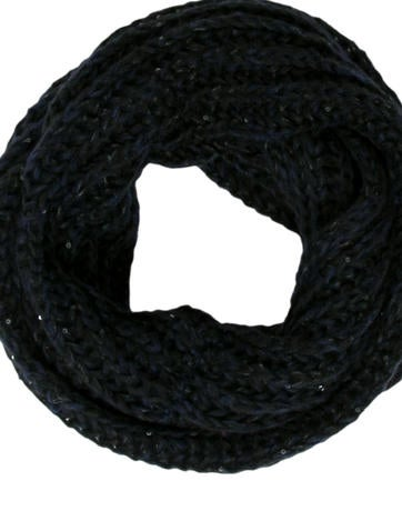 Knit Sequined Snood