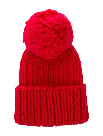 Eugenia Kim Pom-Pom Knit Beanie w/ Tags None