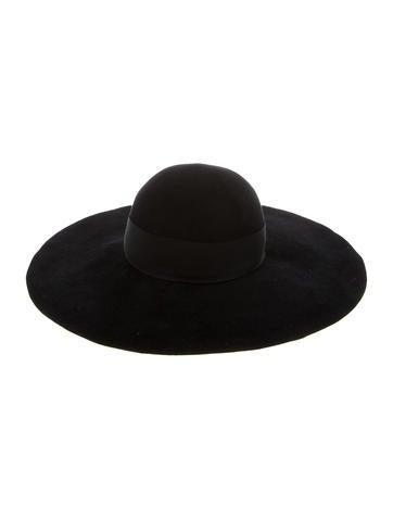 Fur Felt Wide-Brim Hat