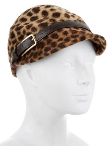 Cheetah Printed Cap