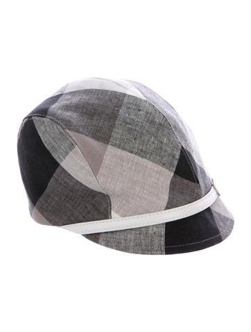 Eugenia Kim Check Woven Hat w/ Tags None
