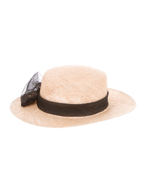 1648a460e236a Eugenia Kim Natural Straw Boater Hat w  Tags - Accessories ...