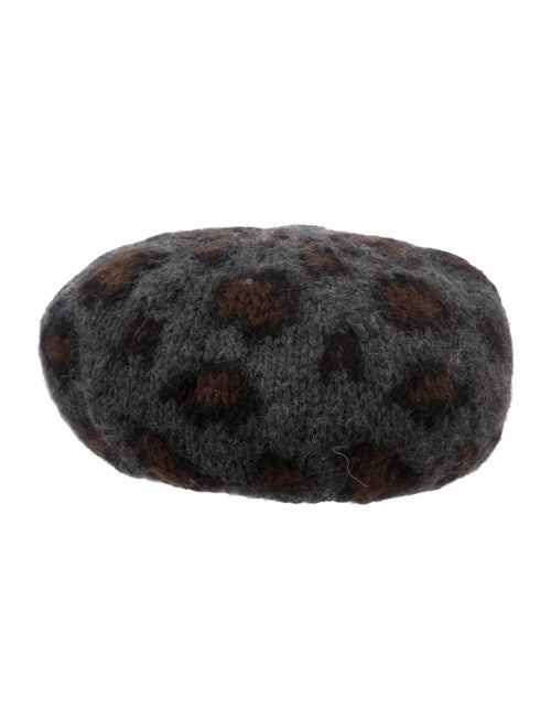 Eugenia Kim Alpaca Knit Beret black