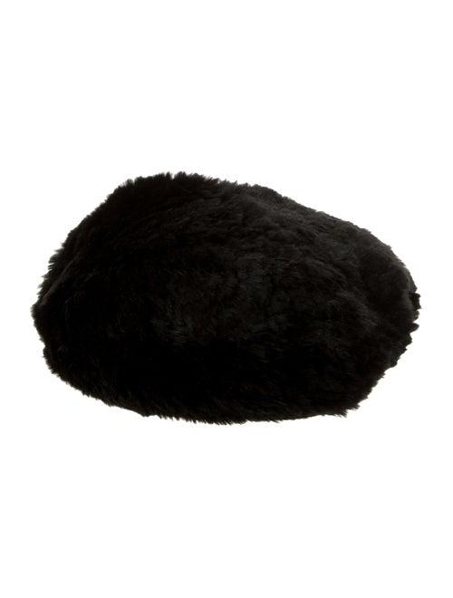 Eugenia Kim Jaclyn Fur Beret Black