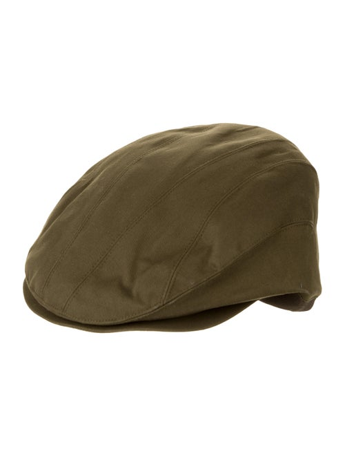 Eugenia Kim Canvas Newsboy Hat w/ Tags olive