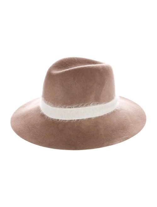 Eugenia Kim Wool Fedora Hat brown
