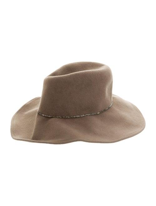 Eugenia Kim Wool Wide Brim Fedora Hat wool