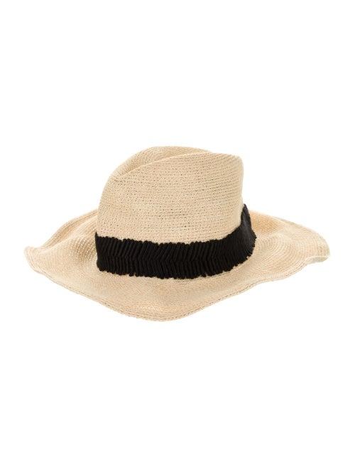 Eugenia Kim Woven Fedora Hat Tan