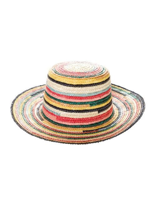 Eugenia Kim Woven Bucket Hat Yellow