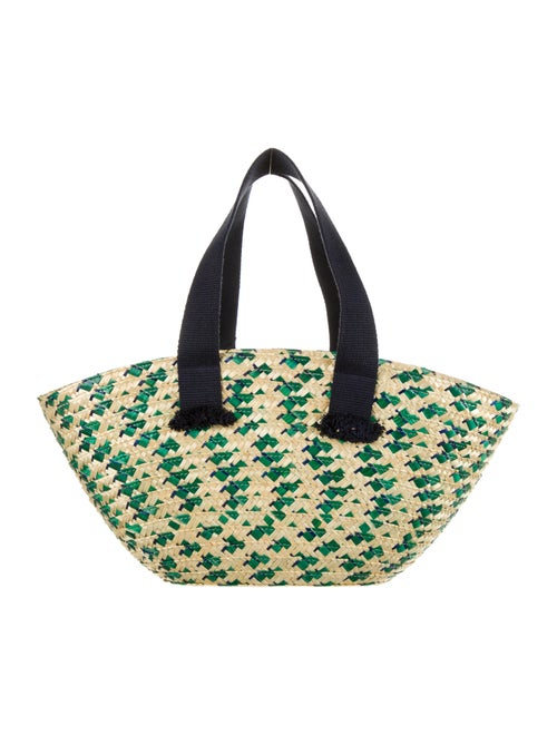 Eugenia Kim Woven Straw Shoulder Bag