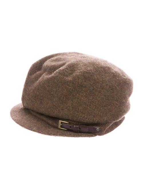 Eugenia Kim Wool Newsboy Hat Brown