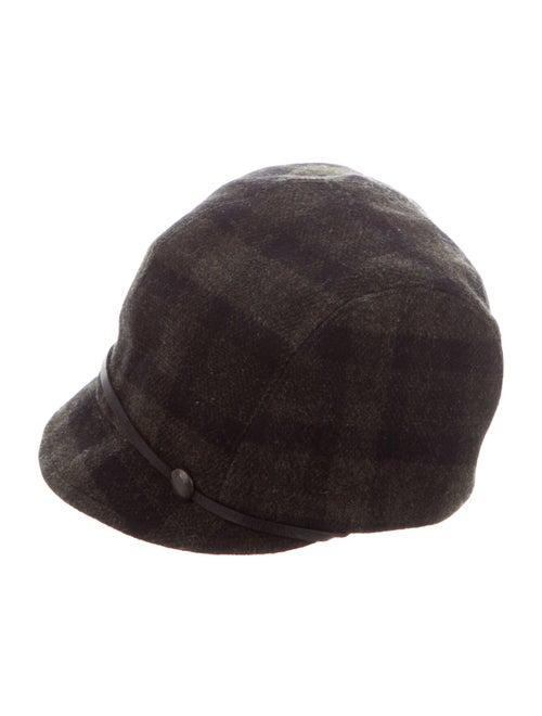 Eugenia Kim Wool Newsboy Hat Green