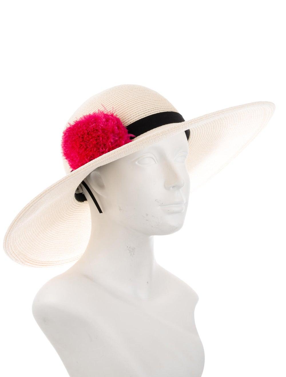 Eugenia Kim Straw Wide Brim Hat - image 3