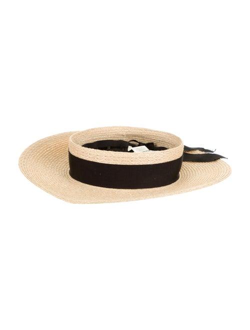 Eugenia Kim Straw Wide Brim Hat Tan - image 1