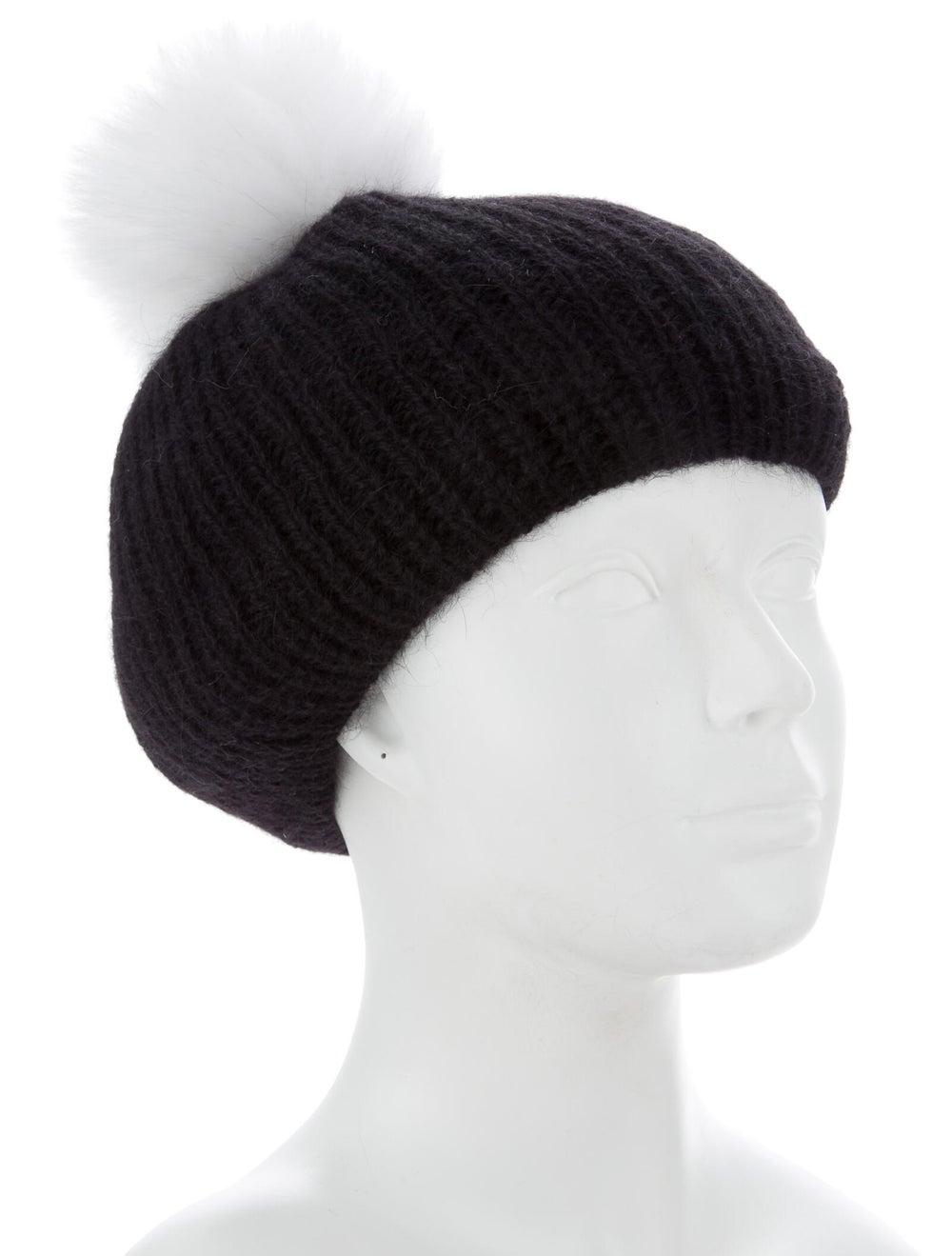 Eugenia Kim Wool Beret Hat Black - image 3