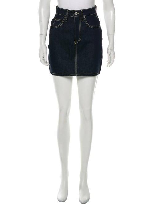 Eve Denim Mini Skirt w/ Tags Denim