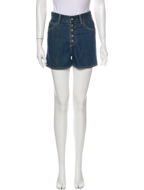 Eve Denim Mini Shorts Denim