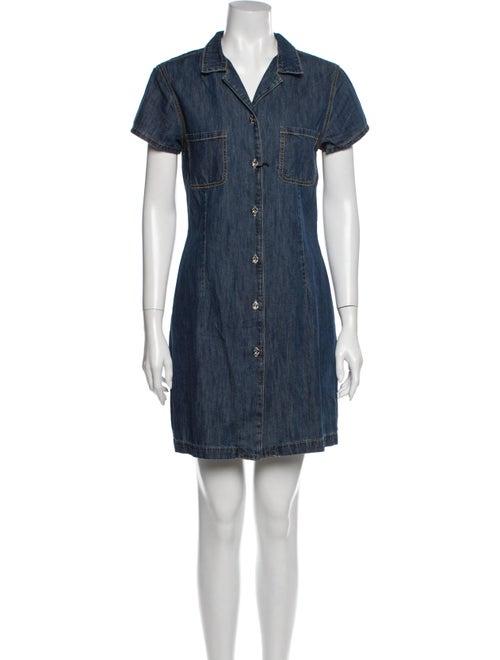 Eve Denim Mini Dress w/ Tags Denim