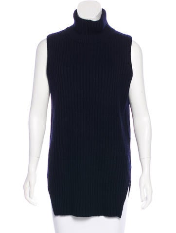 Everlane Sleeveless Wool Sweater None