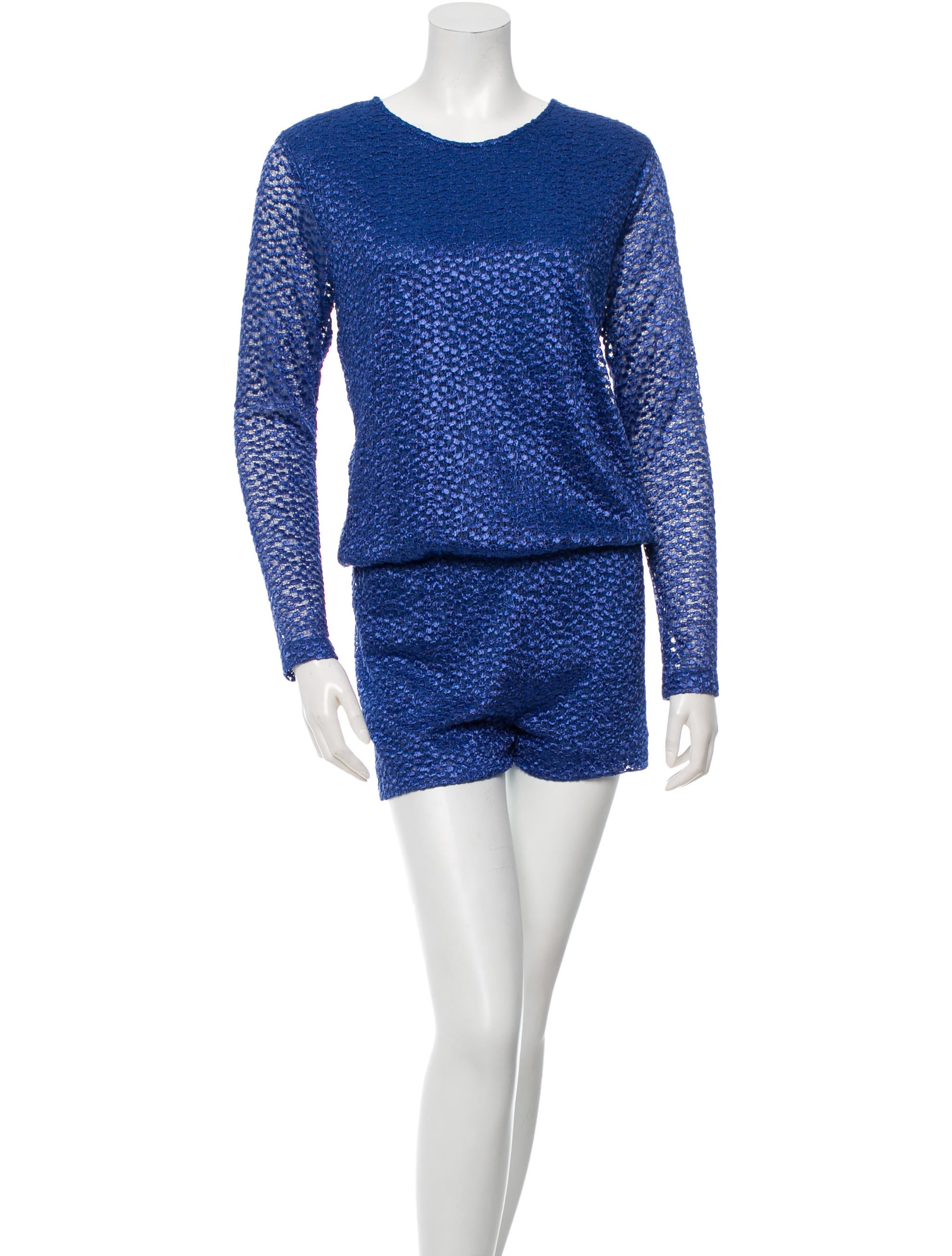 Alexis Knit Long Sleeve Romper - Clothing - WEX21430 | The ...