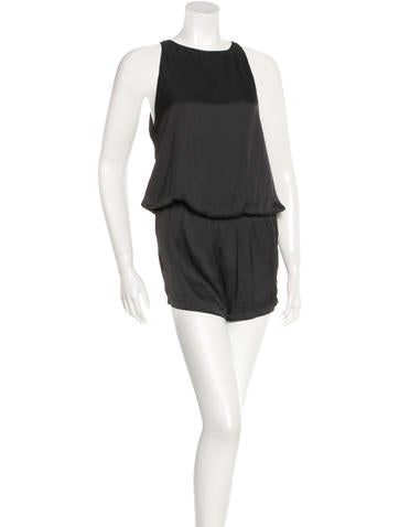Alexis Abrielle Sleeveless Romper w/ Tags None