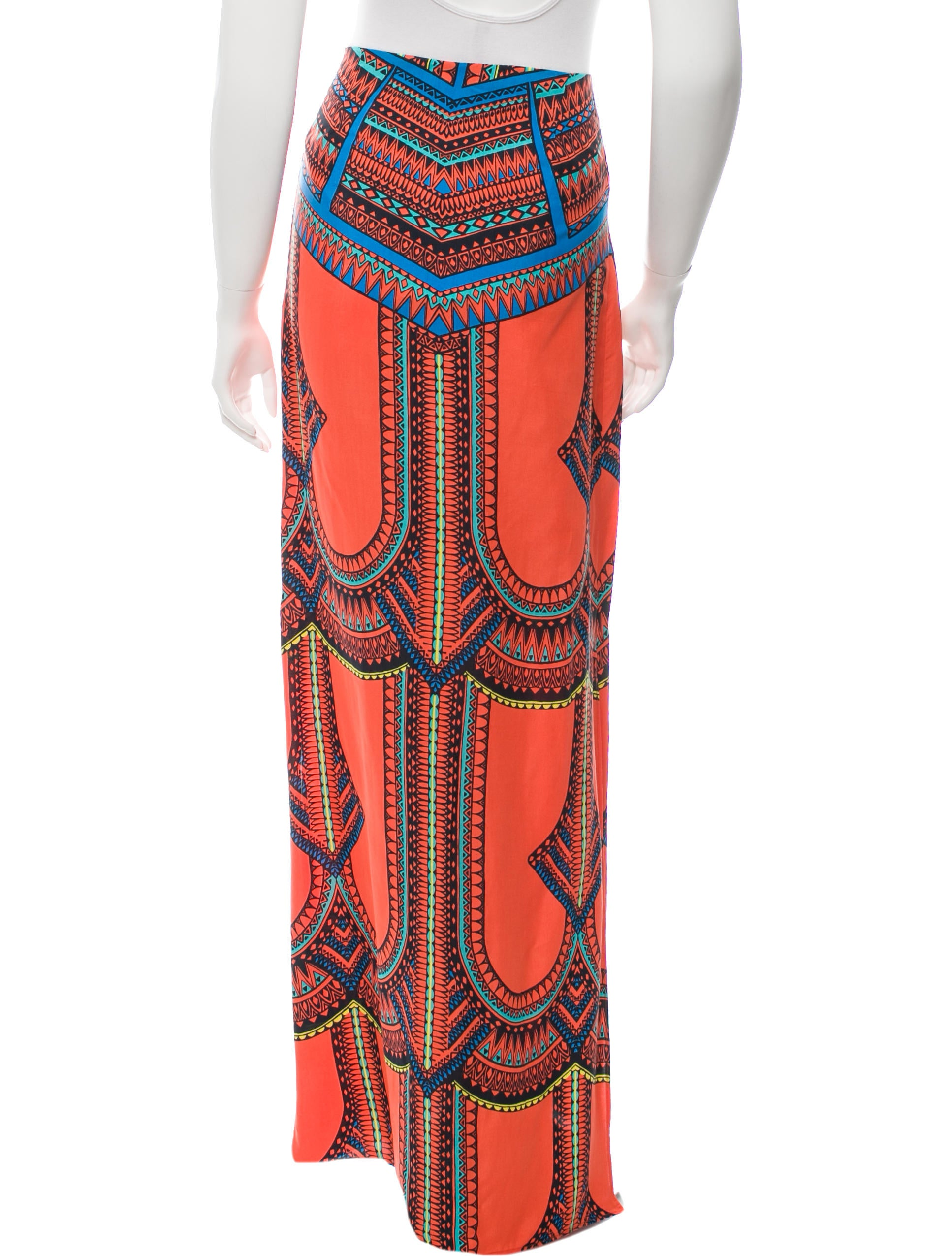 printed maxi skirt w tags clothing wex21769
