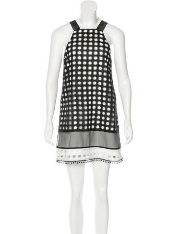 Alexis Sleeveless Eyelet Dress w/ Tags None