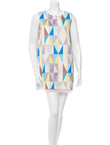 Alexis Abstract Print Shift Dress w/ Tags None
