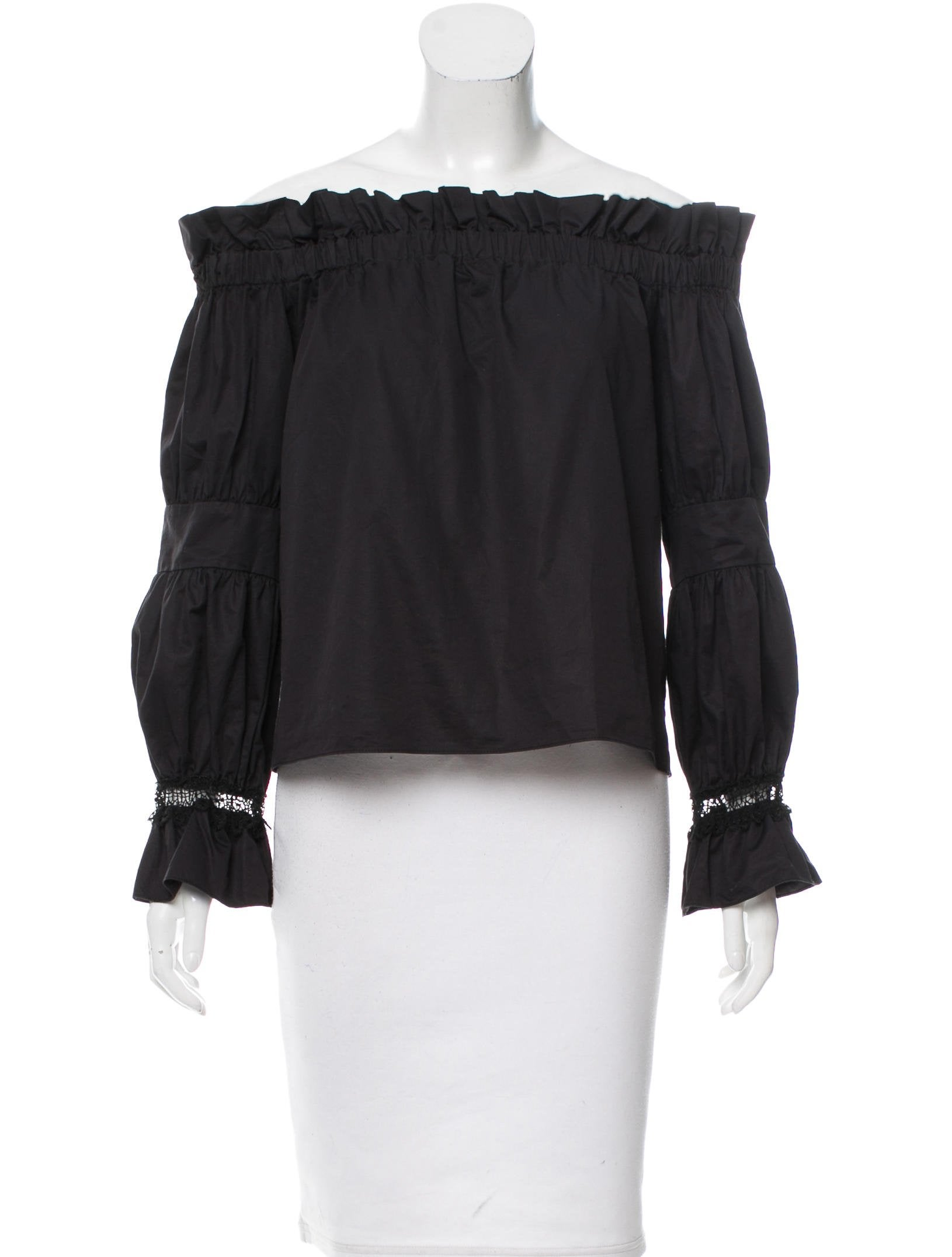 0de45af02350e Alexis Off-The-Shoulder Top Long Sleeve Top - Clothing - WEX23099 ...