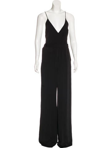 Alexis Sleeveless Wide-Leg Jumpsuit w/ Tags None