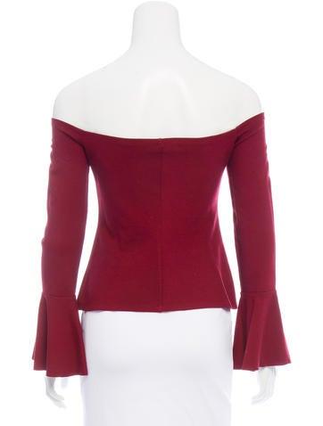 c7e84f4b15cbf Alexis Off-The-Shoulder Crop Top - Clothing - WEX25701