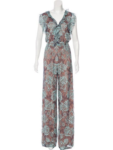Alexis Sibyle Lace Jumpsuit w/ Tags None