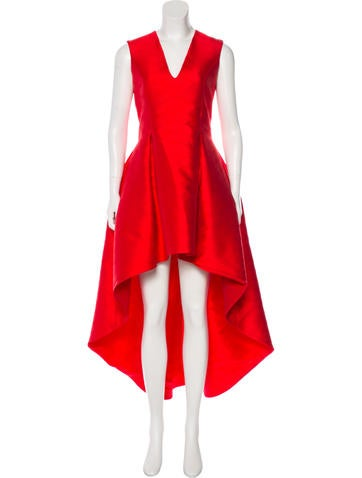 Midi High-Low Dress