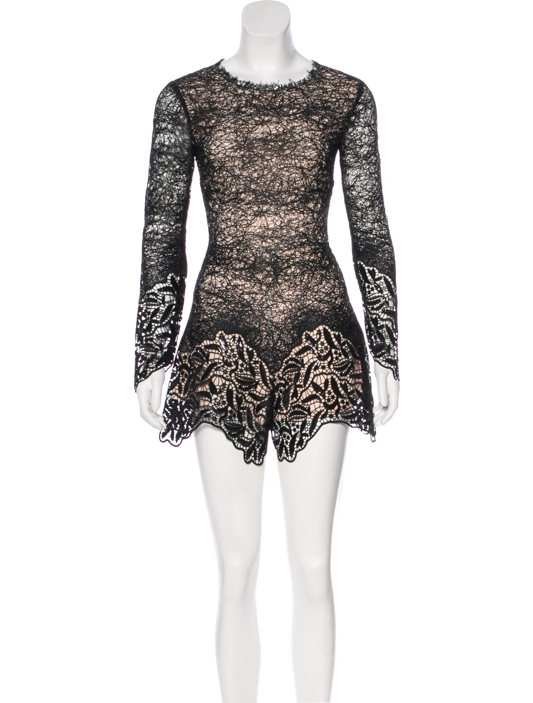 d0aaa6aa6fdc Alexis Izu Lace Embroidered Romper w  Tags - Clothing - WEX29701 ...