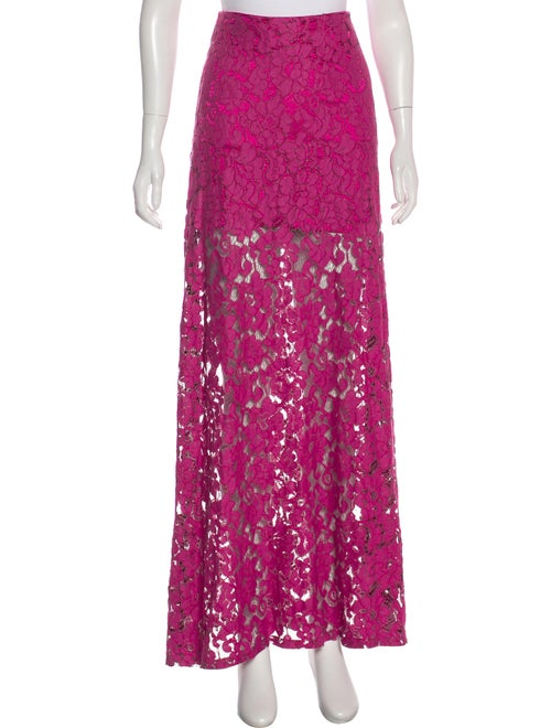 Alexis Lace Maxi Skirt w/ Tags PInk