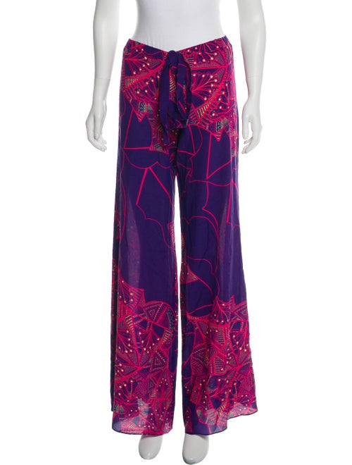 Alexis Silk Pajamas Purple