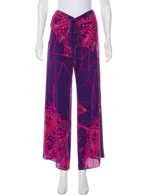 Alexis Silk Pajamas Purple