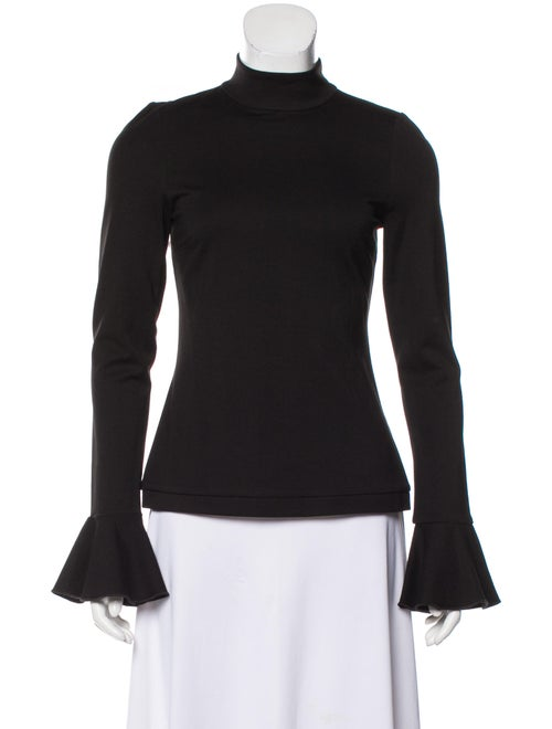 Alexis Turtleneck Long Sleeve Top Black