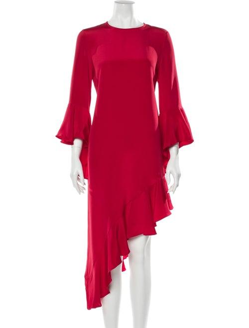 Alexis Asymmetrical Dress Red