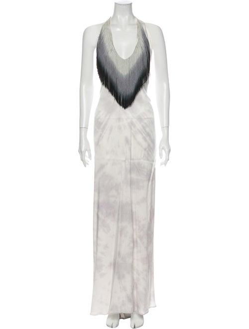 Alexis Tie-Dye Print Long Dress
