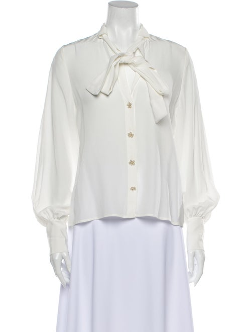 Alexis Aruca Silk Blouse w/ Tags White